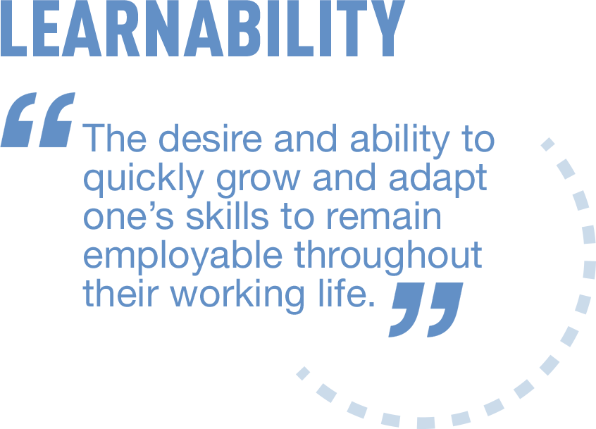 ManpowerGroup Millennial Careers Research Definition of learnability