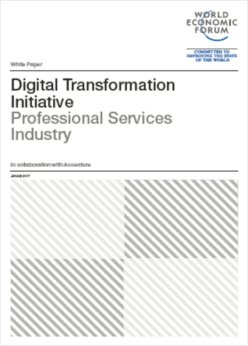 Digital Transformation report by the World economic forum Digital Transformation Initiative, chaired by ManpowerGroup's CEO Jonas Prising